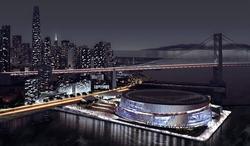 El nuevo pabellón de los Warriors en San Francisco.