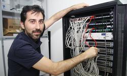 Pablo Pavón Mariño, organizador del XV Congreso Internacional de Redes Ópticas Transparentes.   M.A.C.