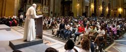 El papa Francisco en el centro Astalli | Cordon