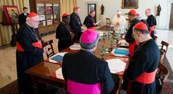 El Papa, reunido con el Consejo de Cardenales | EFE