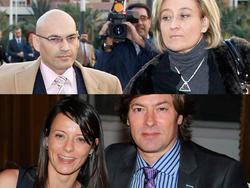 Las dos parejas de jueces y periodistas | Efe/Vanity Fair