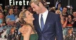 Elsa Pataky con su pareja, Chris Hemsworth | Archivo
