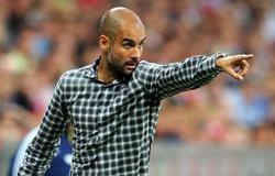 Pep Guardiola en un partido con el Bayern. | EFE