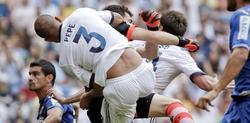 Pepe choca con Casillas. | Archivo