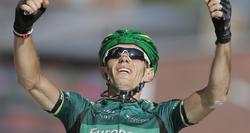 Pierre Rolland celebra su victoria en la undécima etapa del Tour. | EFE