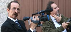 Pino Maniaci, director, productor y presentador del telediario más grande del mundo | Archivo