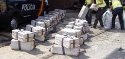 Cocaína incautada a los narcos en Cádiz. | EFE