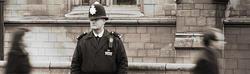 Un agente de policía en una calle de Londres | Usuario de Flickr  pj_vanf