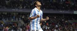 Portillo celebra su gol frente al Eibar. | EFE