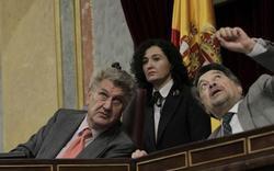 Posada mira los agujeros de bala tapados en el Congreso | EFE