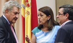 Soraya y Posada, este martes en el Congreso | EFE