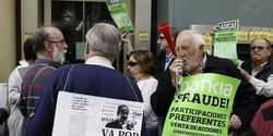 Protestas por las preferentes de Bankia | EFE