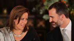 El Príncipe con la primera dama mexicana, Margarita Zavala | Efe