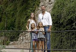 Los príncipes de Asturias y las infantas | Archivo