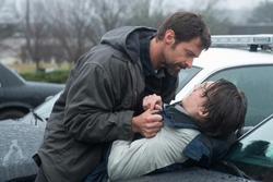 Hugh Jackman y Paul Dano en Prisioneros