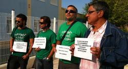El grupo de protesta contra Aguirre | PC
