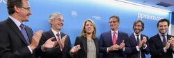 Quiroga, tras ser designada presidenta del PP vasco | EFE