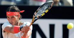 Rafa Nadal, durante la victoria ante Berdych. | EFE