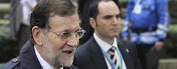 Rajoy, a su llegada a una cumbre europea   EFE