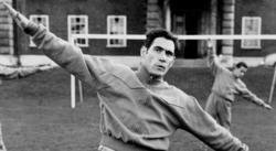 Antoni Ramallets, durante un entrenamiento con la selección española en octubre de 1960. | Cordon Press