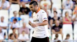 Adil Rami, expulsado en la Europa League ante el Swansea. | Cordon Press/Archivo