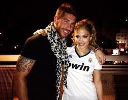 Sergio Ramos y Jennifer Lopez | Twitter