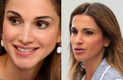 La Reina de Jordania, Raina   Cordon Press