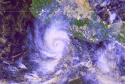 Imagen de Raymond tomada este domingo | Servicio Meteorológico Nacional