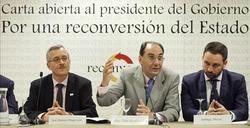 Vidal Quadras, en otro acto de Reconversión   Archivo