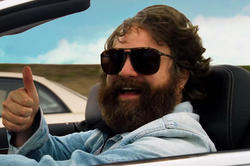 Zach Galifianakis como Alan en Resacón 3