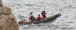 Equipo de rescate hace una semana, cuando sucedió la tragedia | Archivo