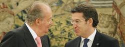 El Rey recibe a Núñez Feijóo   EFE