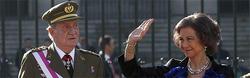 El Rey y la Reina, en la Pascua Militar de 2012 | Cordon Press