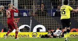 Robben se lamenta al fallar un penalti. | EFE