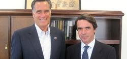 Romney, junto a Aznar | FAES