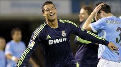 Ronaldo celebra uno de los dos tantos logrados esta noche en Balaídos. | EFE