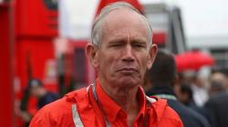 Rory Byrne, durante su anterior etapa en Ferrari. | EFE