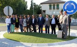 La nueva rotonda. | Ayuntamiento de Alhedín