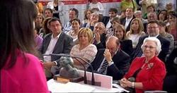 Rubalcaba, emocionado | Imagen TV.