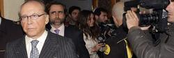 José María Ruiz Mateos a la salida de los juzgados éste miércoles |Efe