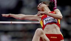 Ruth Beitia no pudo superar los 2.03 | EFE