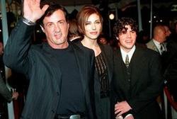 Sage Stallone, a la derecha, en una foto de archivo.