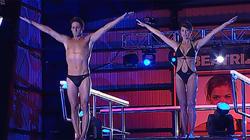 Muñoz Escassi y Sonia Ferrer en el concurso de Telecinco