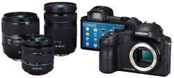 Samsung Galaxy NX, una cámara sin espejo con Android y conexión 4G.   Samsung