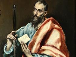 San Pablo, pintado por el Greco