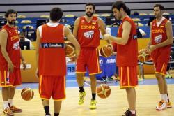 La selección española de baloncesto aspira a luchar por las medallas del Eurobasket. | Archivo.