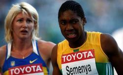 La atleta, en el Mundial de Berlín | Archivo