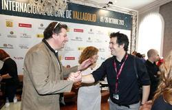 """El director holandés Diederik Ebbinge (i), autor de """"Matterhorn"""", y el realizador argentino Juan Taratuto, autor de """"La reconstrucción""""."""