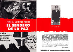 El libro escrito por Jaime del Burgo en 1991   Archivo