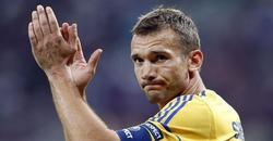 El jugador de la selección ucraniana Andriy Shevchenko. EFE